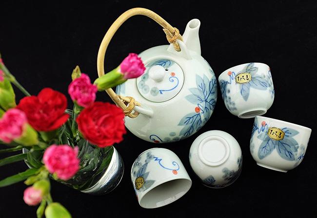 Bộ ấm trà Tachikichi Nhật Bản