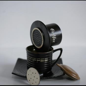 Bộ phin pha cà phê gốm sứ Bát Tràng