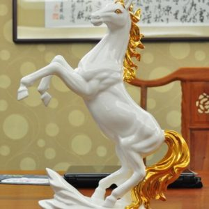 Ngựa gốm sứ cao cấp mã đáo thành công