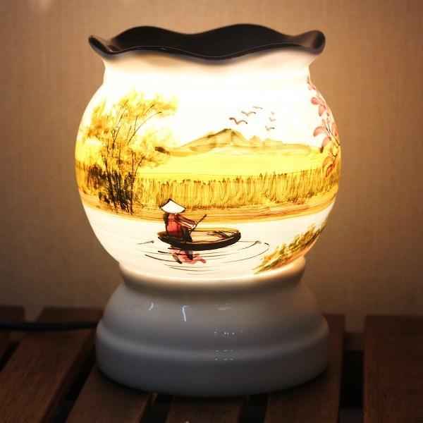 Đèn xông tinh dầu gốm PC21
